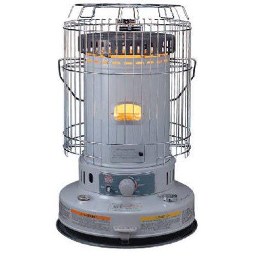 Kero World KW-24G Indoor Kerosene Heater, White