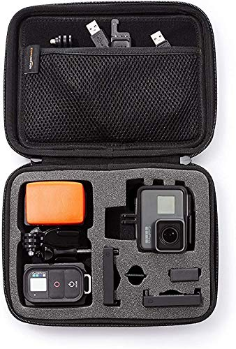 Amazon Basics - Custodia per trasporto GoPro, misura Extra-Small