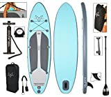 Vilano Navigator 10' 6' Inflatable SUP Stand Up Paddle Board Package