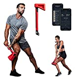ChopFit Functional Trainer System, Portable at Home Gym Workout Equipment, Strength Training Home Exercise Workouts for Men & Women | Great for Cardio Training, Crossfit & Core/Abs – Home Fitness