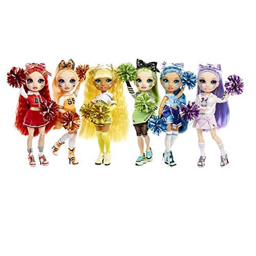 Image 5 - Rainbow High Poupée Mannequin Majorette. Vêtements élégants et pompons. Skylar Bradshaw, Poupée Thème Bleu. Rainbow High Serie, cadeau parfait pour les filles 6 ans et plus