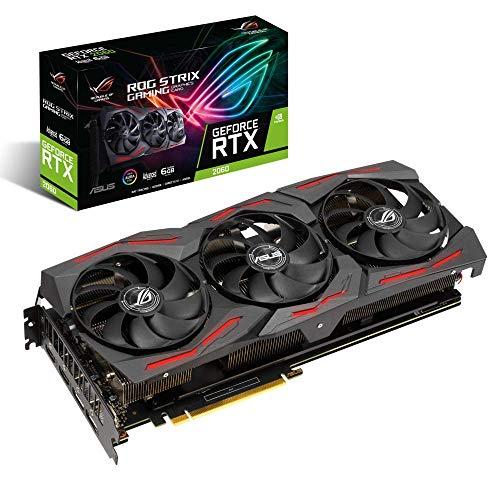 ROG-STRIX-RTX2060- Scheda grafica per giochi EVO Advanced Edition (6 GB GDDR6, PCIe 3.0, Raytracing, 0db-Technologie, DirectX 12)