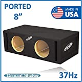 8' Dual ported subwoofer Box 37-Hz
