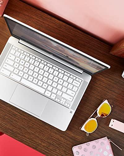 "HP Chromebook 14 Laptop, Intel Celeron N4000 Processor, 4 GB RAM, 32 GB eMMC, 14"" HD Display, Chrome"