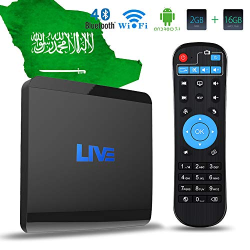Live IPTV Box, Android TV Receiver, 1600+ 4K HD International Live Channels from India, Brasil, America, Europe, Asia, Including Sports Movies News Adult Channels, 2020 Newest Upgraded Version