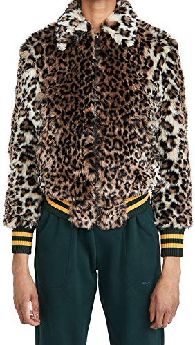 51gLUwMSqWL Shell: 54% acrylic/23% modacrylic/23% polyester Lining: 100% polyester Fabric: Heavyweight, non-stretch faux fur