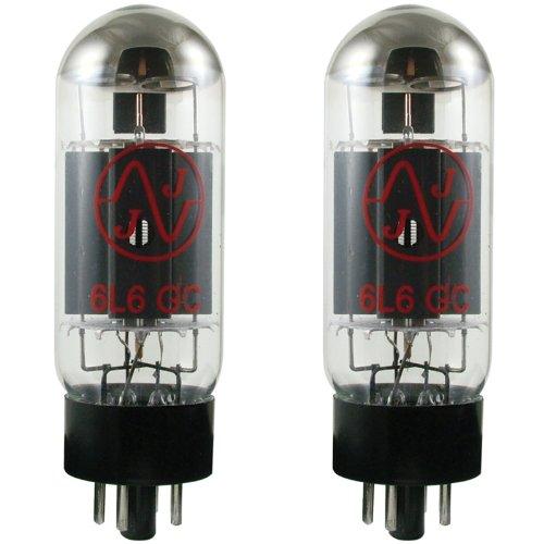 JJ ElectronICs JJ 6L6GC Vacuum Tube, Matched Pair
