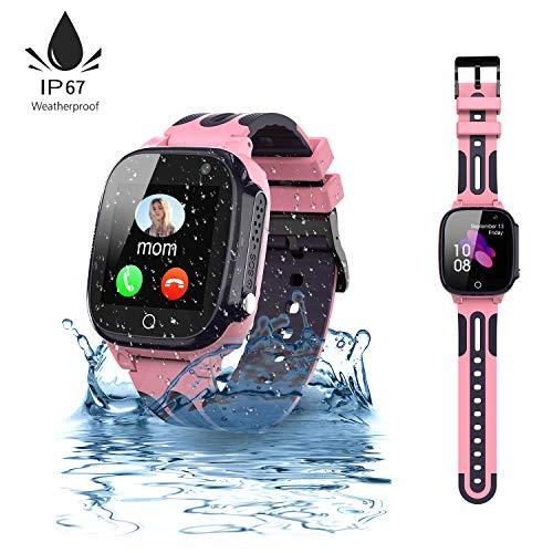 Jaybest Kinder Smartwatch,wasserdichte Smart Watch für Kinder,Smart Watch Phone...