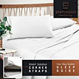 Empyrean Bedding King Sheet Sets - 4 Piece King Size Sheets - 14'-16' King Size Sheets with...