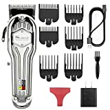 SURKER Mens Hair Clippers Cord Cordless Hair Trimmer Professional Haircut Kit For Men Rechargeable...