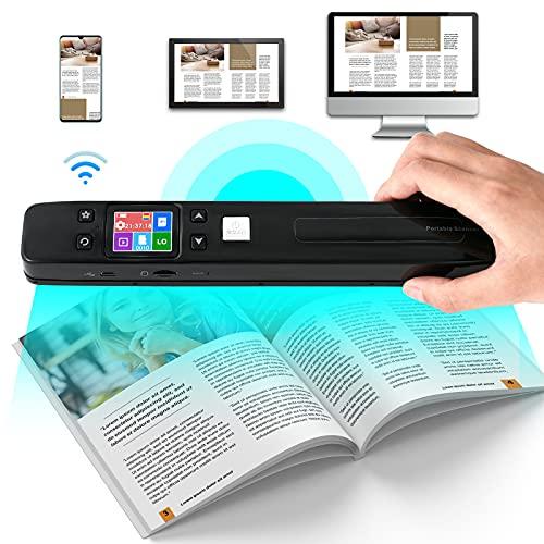 GJCrafts Scanner Portatile WiFi Display LCD in...