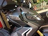 2 Pegatinas 3D PROTECCIÓN DE Resina Esquinas Esquinas para Xadv Compatible con Honda X-ADV 750