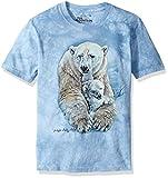 The Mountain Polar Bears Child T-Shirt, Blue, Small