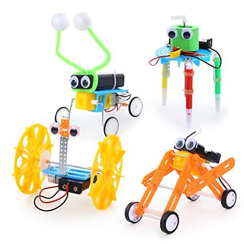 Sntieecr 4 Set Kit de Robótica para Niños, Kit de Construcción...
