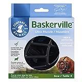 Baskerville Ultra Museau, Noir (Noir), Taille 4 (Longueur:9...