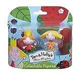 Set Dos Figuras Muñecos Ben Y Holly - El Pequeño Reino De Ben Y Holly Poppy Y PJ Holly