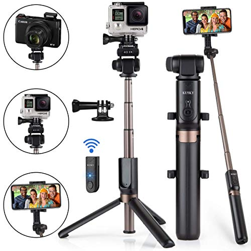51gWjJ ML5L - The 7 Best Selfie Sticks That Will Keep Your Camera Steady for That Perfect Shot