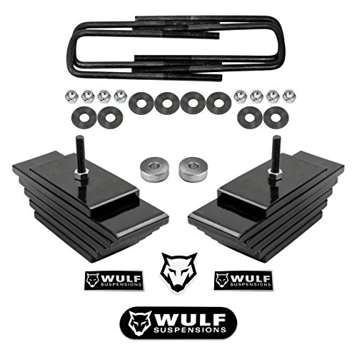 WULF 3' Front Lift Leveling Kit For 1999-2004 Ford F250 F350 Super Duty 4WD