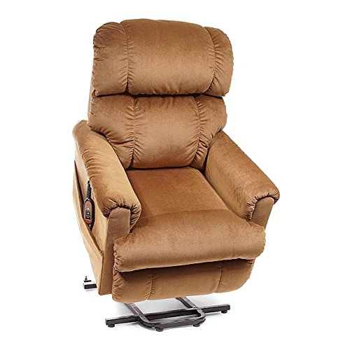Golden Technologies - Space Saver - Lift Chair - Medium - 20'W x 21'D Seat - Copper