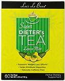 Laci Le Beau Super Dieter's Tea, Lemon Mint - 60-Count Box (Pack of 2)