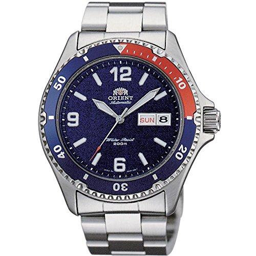 Orient Damen Analog Automatik Uhr mit Edelstahl Armband FAA02009D3