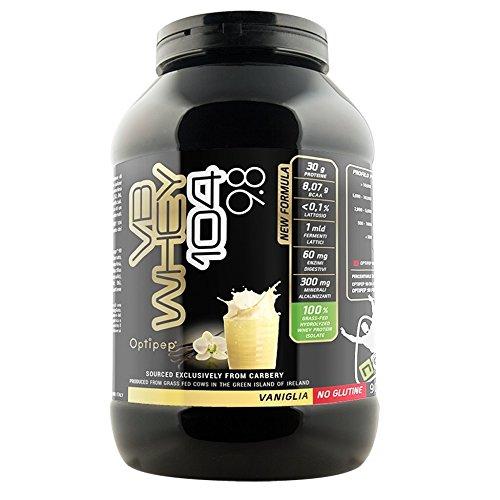 VB WHEY 104 9.8 ● Optipep ● Gusto Vaniglia ● Proteine Isolate Idrolizzate Per Via Enzimatica ● 900 Grammi