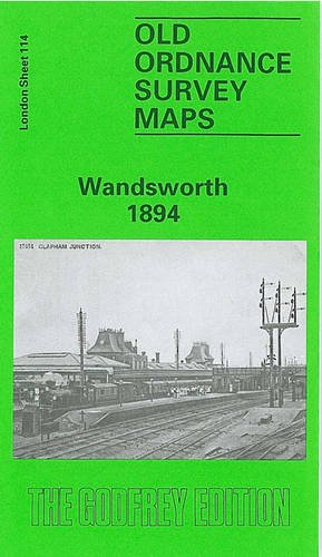 Wandsworth 1894: London Sheet 114 (Old O.S. Maps of London)