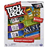 Tech Deck, Sk8shop Bonus Pack, Collectible and Customizable Fingerboards (Styles May Vary)