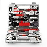 Caja de herramientas de Femor de 48 piezas para la reparación y mantenimiento profesional de todo tipo de bicicletas
