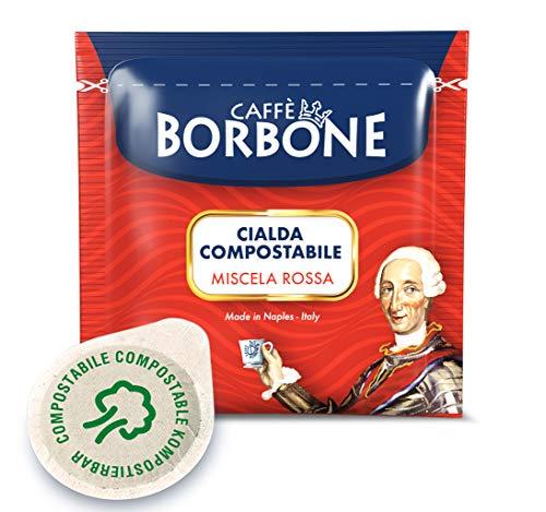 Caff Borbone Cialda Compostabile, Miscela Rossa - 150 Cialde - Sistema ESE