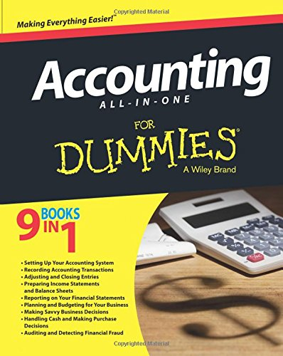 Accounting All-in-One For Dummies (For...