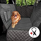 Vailge Dog Car Seat Covers, 100% Waterproof Scratch Proof Nonslip Dog Seat Cover, 600D Heavy Duty seat Cover for Dogs, Dog car Hammock Pet Seat Cover for Back Seat car Trucks SUV