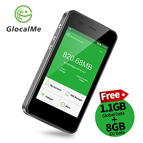 GlocalMe G3 Router Mobile 4G LTE, Global Alta...