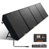 ECO-WORTHY Panneau Solaire Pliable 120W pour Générateur Portable et Batterie de RV, Sortie CC pour...