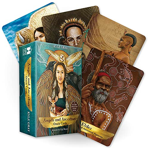 Angels and Ancestors Oracle Cards: A 55-Card Deck and...