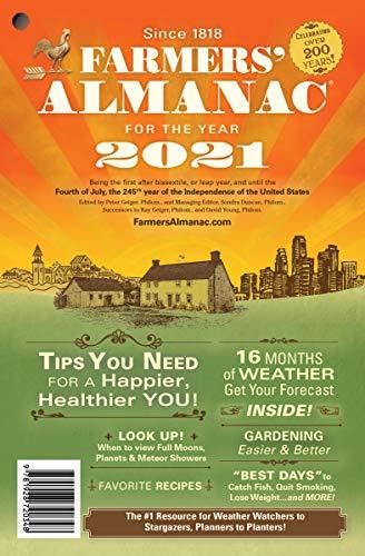 Farmers' Almanac 2021 (English Edition)