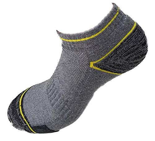 Lucchetti Socks Milano 6 paia fantasmini da lavoro calzini 90% cotone leggeri alla caviglia...