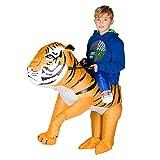 Bodysocks Kids Inflatable Tiger Fancy Dress Costume