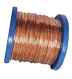 Wholesale Solid Copper Jewelry Making Wire 5 Lb Spool (Dead Soft) (28 Ga - 10,000 Ft)