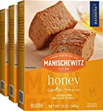 Manischewitz Honey Cake Mix 12oz (3 Pack) Baking Pan Included, Easy To Bake