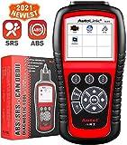 Autel Autolink AL619 OBD2 Scanner ABS SRS Scan Tool, Apague la Herramienta de Diagnóstico Check...