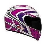 Bell Grinder Adult Vortex Sports Bike Motorcycle Helmet - Pink/Purple/Medium
