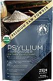 Organic Psyllium Husk Powder, Perfect for Keto Baking Flour & Cooking - Non-GMO Dietary Fiber (8oz)