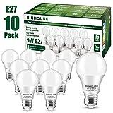 Ampoule LED E27, 9W équivalent Ampoule Halogène 60W, 800LM, Blanc Froid...