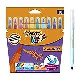 BIC Kids Visaquarelle Feutres de Coloriage avec Pointe Pinceau - Couleurs...