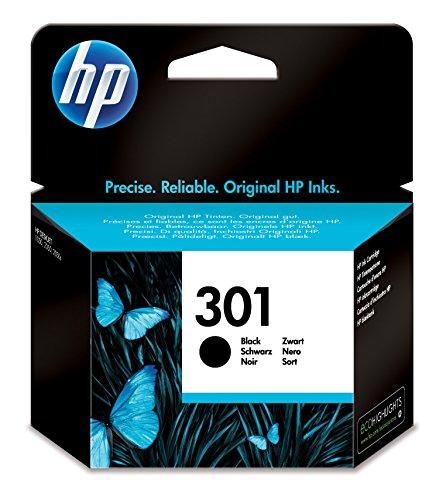 HP 301 | Zwarte cartridge | Voor 50% meer pagina's dan met niet-originele inkt