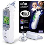 Braun Thermomètre auriculaire infrarouge ThermoScan7 IRT6520 + Embouts LF40 +...