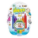 CRAZE INKEE Bath Crayons 28667 - Lápices de baño Lavables para Superficies de cerámica en 6...