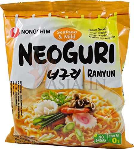 Nongshim neoguri ramyun - macarrão instantâneo - importado da coreia