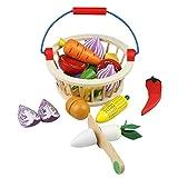 Mango Town Fruits et Légumes Jouets Bois Legumes a Decouper Aliments Jouet Jeux...